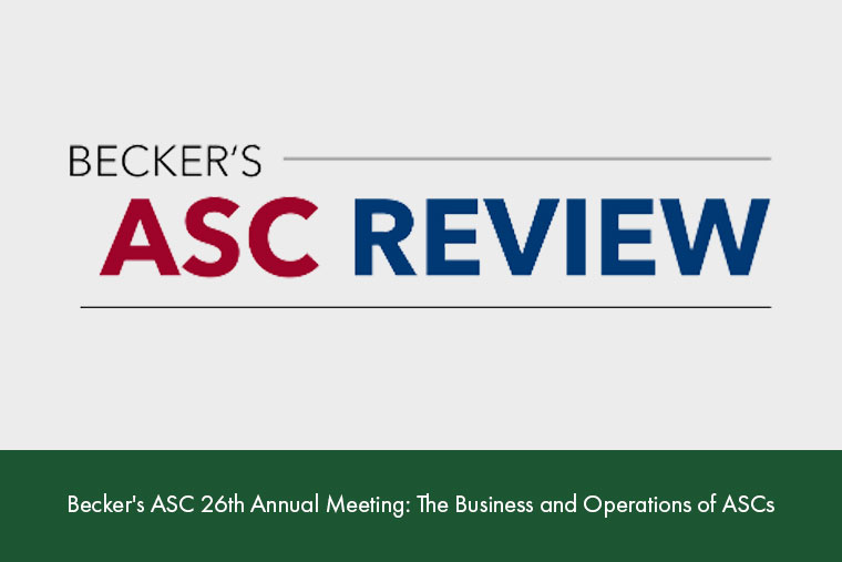 Becker's ASC 26th Annual Meeting