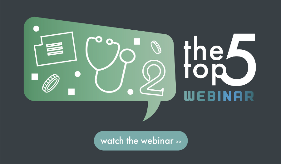 You're invited to The Top 5 Webinar